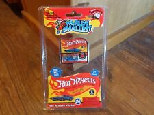 2017 SUPER IMPULSE--WORLD'S SMALLEST--HOT WHEELS BLUE RODGER DODGER CAR (NEW)
