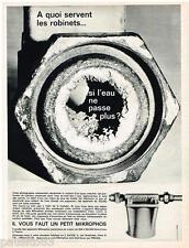 PUBLICITE ADVERTISING 095  1964  MICROPHOS PROGIL appareil  anti-calcaire 2