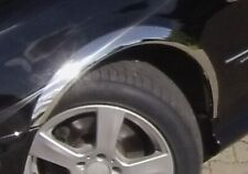MERCEDES CLK W209 Chrome wheel arch trims 4 pcs front rear wing panel kit '02-09