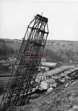 PHOTO  MONMOUTHSHIRE DEMOLITION OF CRUMLIN VIADUCT ON 27TH MARCH 1966