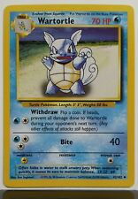 Wartortle Base Pokemon Card 42/102 - $1 Combined Shipping - NM / M - Uncommon