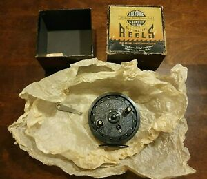 """J W Young & Sons Rapidex 4"""" Inch Centrepin Reel - Original Box & Wrapping"""