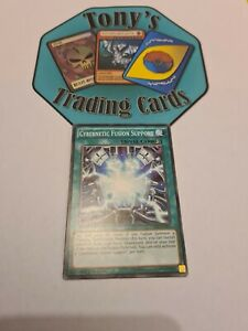 CROS-EN092 Cybernetic Fusion Support 1st Edition YuGiOh Card