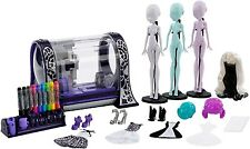 Monster High MONSTER MAKER Printer Playset - includes 3 blank dolls, stands NEW!