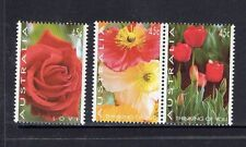 AUSTRALIA 1994 -THINKING OF YOU LOVE STAMP FLOWER DESIGNS COMPLETE SET OF 3 MUH