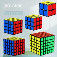 Magic Cube Rubix Rubik Puzzle Super Smooth Fast Speed Cube Black Sticker Kid Toy