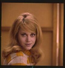 Jane Fonda Frappe Attirant Studio Glamour Photo Original 2 1/4 Transparence