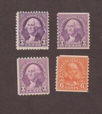 Us,720,721,722,Mnh,723, Mnh,1930'S Collection Mint Nh,Og