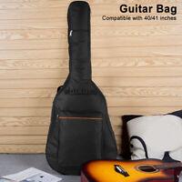 GIGBAG Gitarrentasche-fÜr 4/4 Konzertgitarre-case 41zoll Gepolstert Schwarz