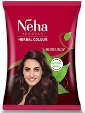 Neha Herbal Hair Colour for Hair Dyeing with Indian Natural Herbal Care 20 Grms