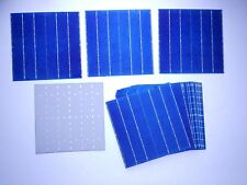 40 MULTI-CRYSTALLINE SOLAR CELLS 18.10 %eff. 4.4 wt. ea 4-BB ( buss bars)(#185)