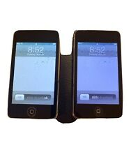 Lot of 2 Black Apple iPod Touch (2nd Gen) 8Gb Mp3 Music Players A1299 ~ Reset
