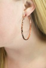 """Copper Hoop Earrings Htf New Paparazzi """"Lookin Sharp"""""""