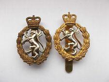 womens royal army corps   cap badges