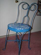 ice cream parlor chair vintage