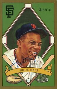 Willie Mays San Francisco Giants Autographed Perez-Steele Masterworks #14 JSA