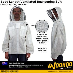 Ventilated Bee Jacket Protective Suit for Beekeeping