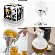 Dispensador Enfriador refrigerante 3,5 L cerveza,bebida,grifo,recipiente hielo