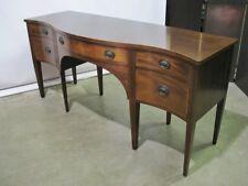 "78"" Vintage 1940's Baker Furniture Mahogany Federal Style Sideboard; Nr. Mint"