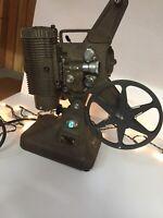 Vintage Keystone 8mm Movie Projector Model K-108 As Is