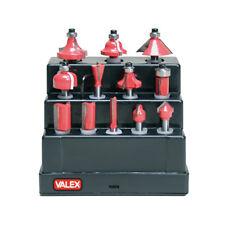 Frese Da Legno Serie 12 Pz Valex VX1461690