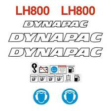 Dynapac LH800 Decals Stickers Repro Kit