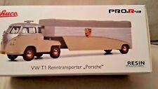 """Schuco 09093, 1:43, VW T1b- Porsche Renntransporter """" Porsche AG """", NEU in OVP"""
