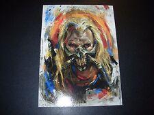 MAD MAX FURY ROAD Art 5X7 Postcard IMMORTAN JOE like poster print robert bruno