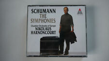 Schumann: The Symponies-Harnoncourt-Symphony 1-4 - DOUBLE CD
