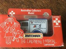 MATCHBOX AUSTRALIAN COLLECTORS MODEL DIECAST THE CHILDREN'S HOSPITAL Camperdown