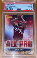 POP 1!💎 2009 LeBron James PANINI ALL-PRO TEAM #1 PSA 10 BGS lakers prizm HOT 🔥