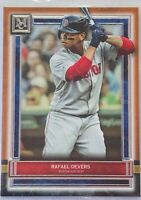 RAFAEL DEVERS 2020 TOPPS MUSEUM COLLECTION COPPER CARD #89 BOSTON RED SOX MLB
