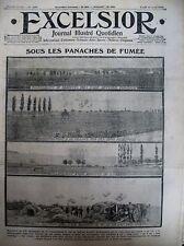 WW1 ARTILLEUR MARMITES DE 210 SHRAPNELLS DE 77 BISMARCKSTAG EXCELSIOR 12/04/1915
