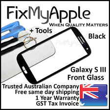 Samsung Galaxy S III S3 i9300 i9305 Black Front Glass Screen Lens Replacement