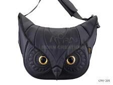 """OUT OF STOCK! Owl 3D messenger bag MORN CREATIONS BLACK Large 15""""macbook  legend"""