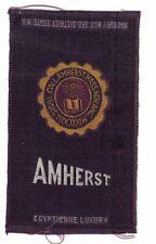 1910s S25 tobacco / cigarette / college silk Amherst College
