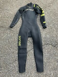 Orca sonar wetsuit Medium Tall Used
