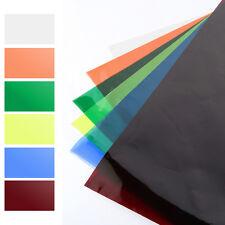 "16""x20"" 40*50cm Colors Filter Lighting Gel Sheets f Camera Video Light Studio AU"