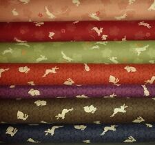 "Fat Quarter Animals & Insects 45"" Craft Fabrics"