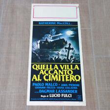 QUELLA VILLA ACCANTO AL CIMITERO locandina poster affiche Lucio Fulci Horror AQ3
