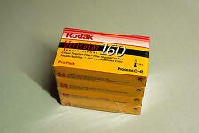 KODAK Vericolor 160 colour camera films 120 (4 X 5 Stück)