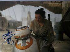 Daisy Ridley & Brian Herring 2X Hand Signed 8X10 Photo W/ Holo Coa Star Wars