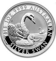 2019 Australian $1 Swan 1 oz .9999 Silver Coin Perth Mint BU
