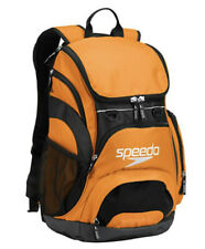 Speedo Teamster Large Backpack Orange Swimming Bag Workout