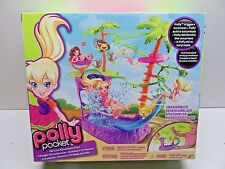 2012 Mattel Polly Pocket Zip Line Adventure Pool X9046 - Brand NEW Sealed - L@@K