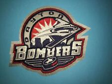 Rare Dayton Bombers ECHL Hockey CCM Jersey Shoulder Patch Crest