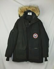 Canada Goose Men's Large L Black Relaxed Fit Cotton Expedition Parka Coat Jacket