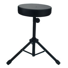 Drum Throne Padded Seat Stool Stand Drummers Percussion Hardware Drumming Chair