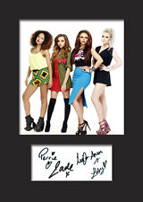 LITTLE MIX #4 Signed Photo Print A5 Mounted Photo Print - FREE DELIVERY