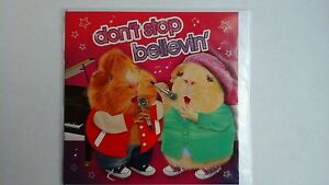 Funny Guinea Pigs Birthday Card Don't Stop Believin